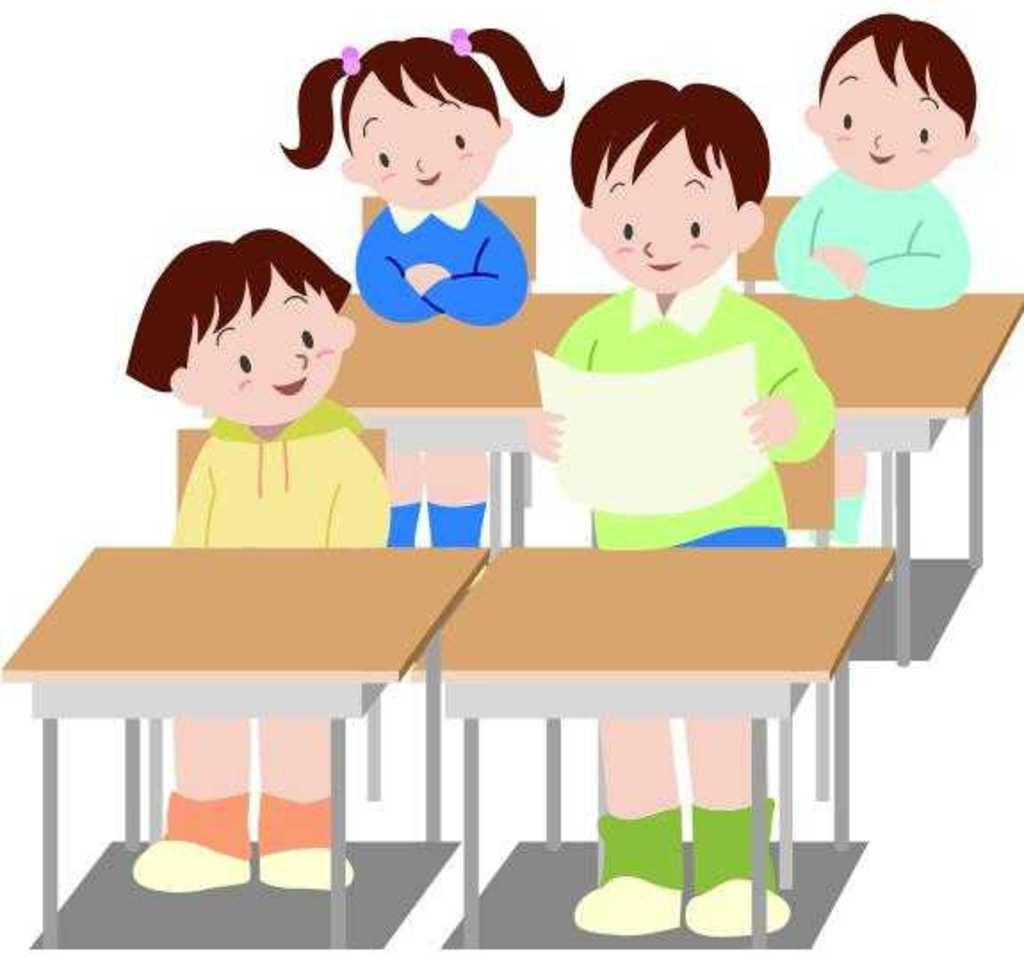 Приём детей. Индивидуальная работа в классе.